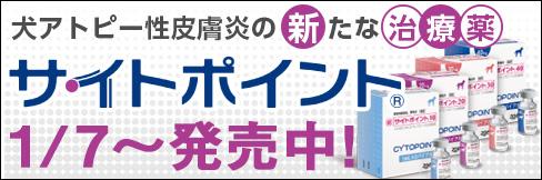 \予約受付中/◆新発売◆犬アトピー性皮膚炎の新たな治療薬【サイトポイント】