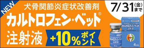 \10%ポイント還元!/★4mL新発売★カルトロフェンベットキャンペーン