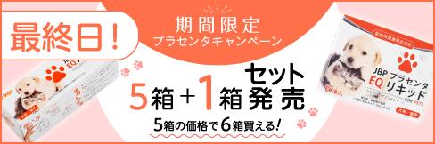 \1箱無料プレゼント!/【JBPプラセンタEQリキッド/パウダー】5箱ご購入で!★4/30(金)まで★
