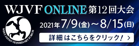 【WJVP 2021オンライン第12回大会のご案内】お申込締切は~8/6(金)まで`!!