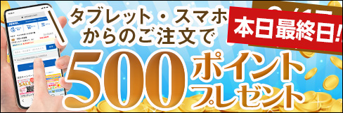 【タブレット・スマホ購入キャンペーン】対象者全員★500ポイント貰える★~9/17(金)まで!!