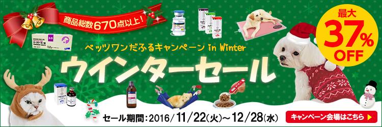 ベッツワンだふるキャンペーン in Winter2016