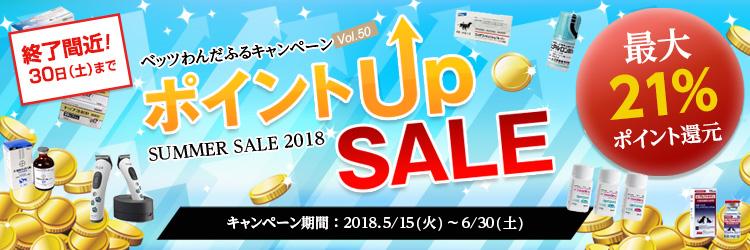 最大21%ポイント還元!! セール品が更にお得に♪ サマーセール~ポイントアップ商品を大特集!!