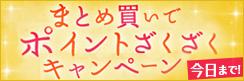 10日間限定★ポイント最大4%還元!秋の大感謝祭♪まとめ買いポイントざくざくキャンペーン